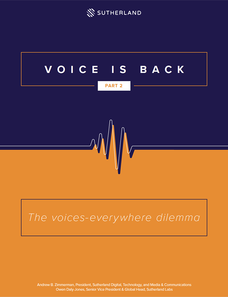 Voice is Back: The Voice-Everywhere Dilemma